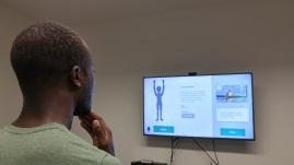 Pilot testing Kinect animations