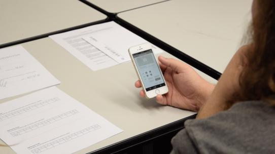 Interactive prototype